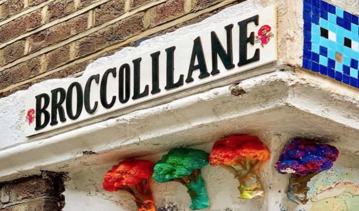 走進倫敦街頭藝術室