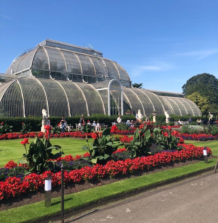 溫室花園Kew garden的仙境