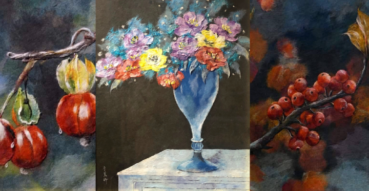 The artworks created by myMum