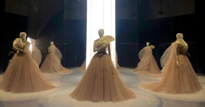 Dior的倫敦夢遊